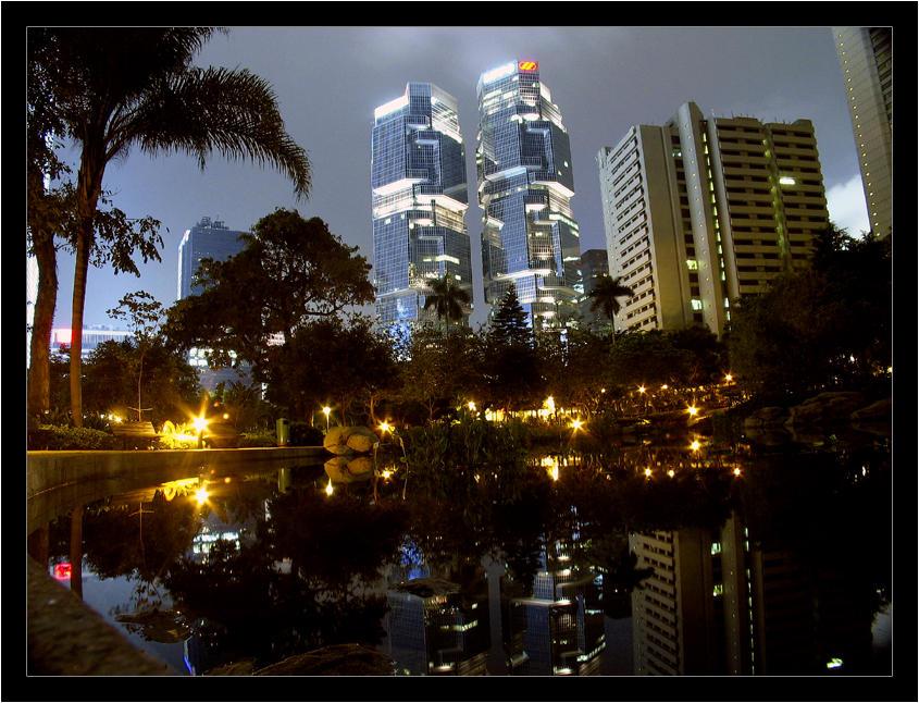 HK Cityscape by satnitefever