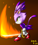 Blaze with Sword