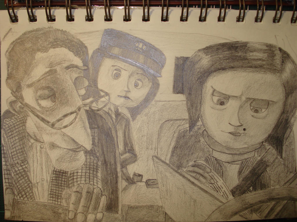 Coraline S Family By Sergeant Rl3 On Deviantart