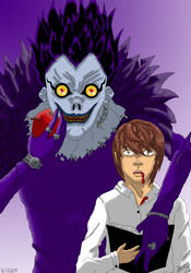Death Note (2006) - Ryuk and Light by Bea89
