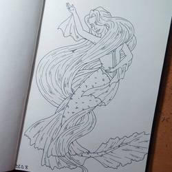 Mermay 2019 Day 8 - Rapunzel