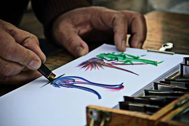 The Artist's Hands by JoE-EviL