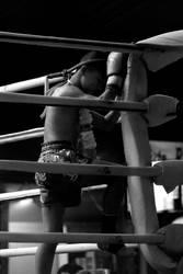 Praying Kickboxer (Muaythai) by joengwenk