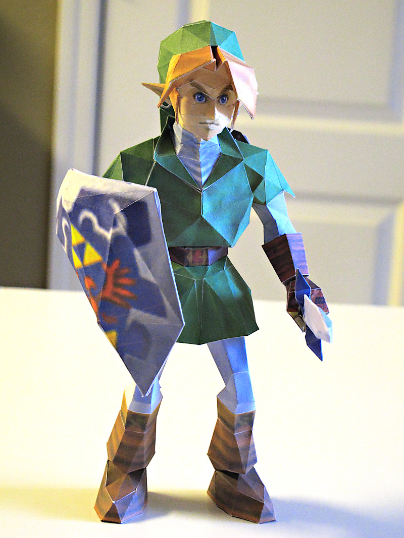 Link Papercraft by im-tall