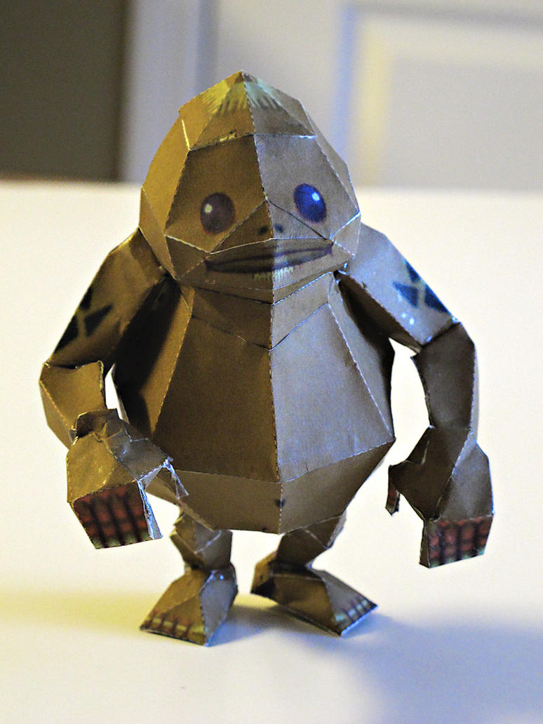 Goron Papercraft by im-tall
