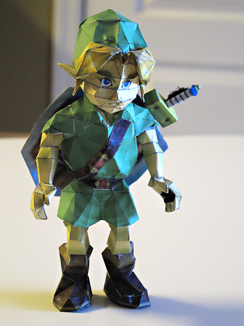 Young Link Papercraft by im-tall