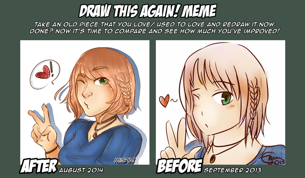 Art Improvement Meme by Miistessa