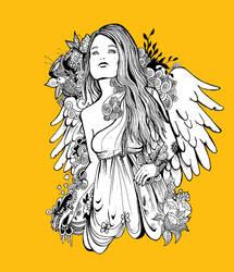 angel by kraakr