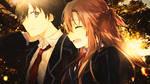 Asuna and Kirito Wallpaper by PiritoO