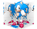 Low Poly Classic Sonic