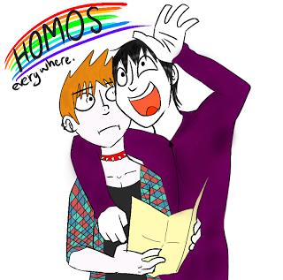 ~Homos everywhere by LoveBlueForever