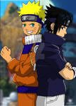 Naruto vs Sasuke Friends/Rivals
