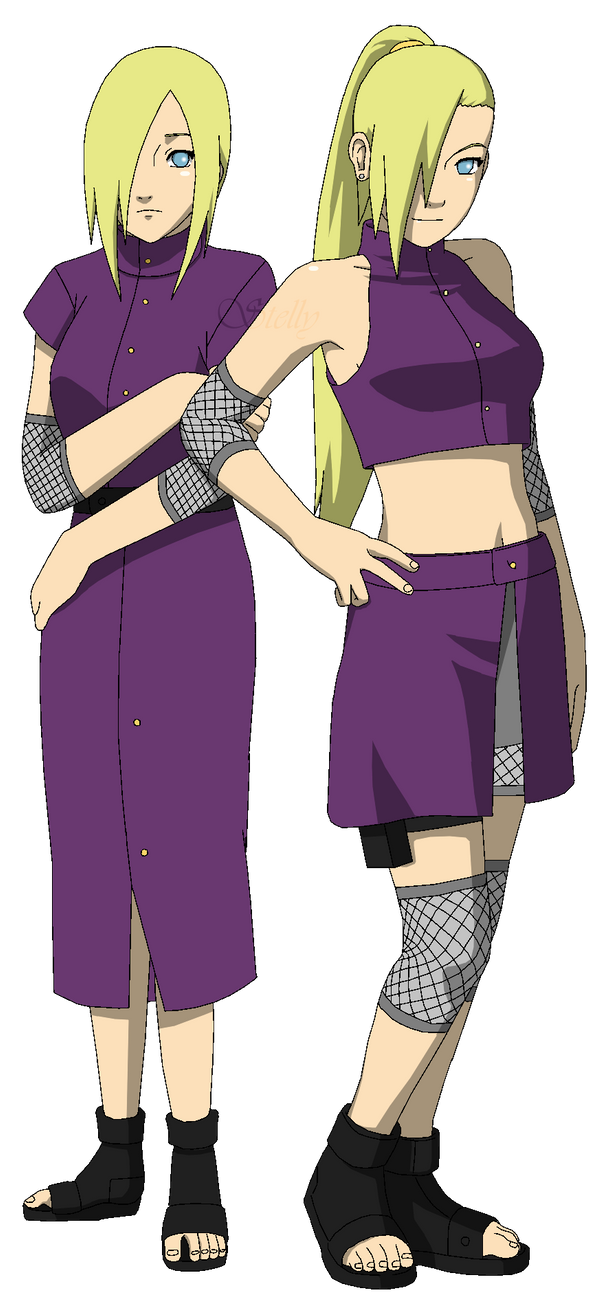 RTN Ino - Lineart colored by DennisStelly on DeviantArt