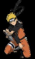 Naruto Uzumaki - Lineart colored
