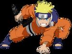 Naruto Uzumaki pts - Lineart colored