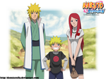 Naruto Family - Lineart colored
