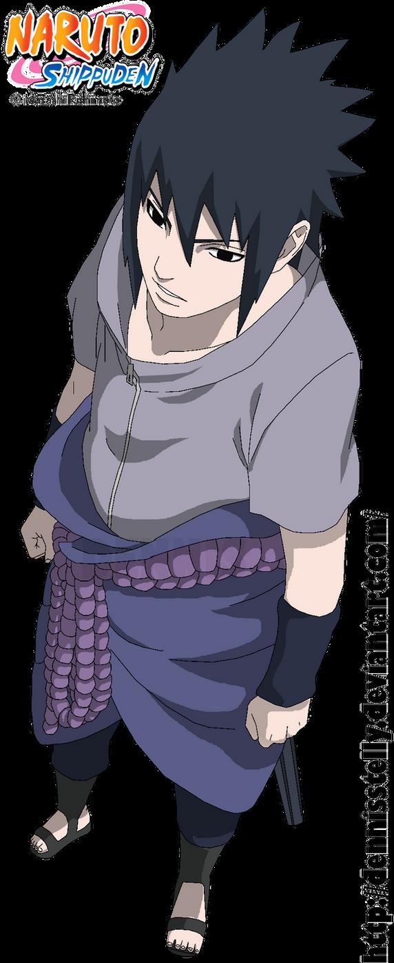 Sasuke Uchiha 627 - Lineart colored by DennisStelly