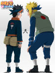 We will become Hokage, Obito 637 - Lineart Colored