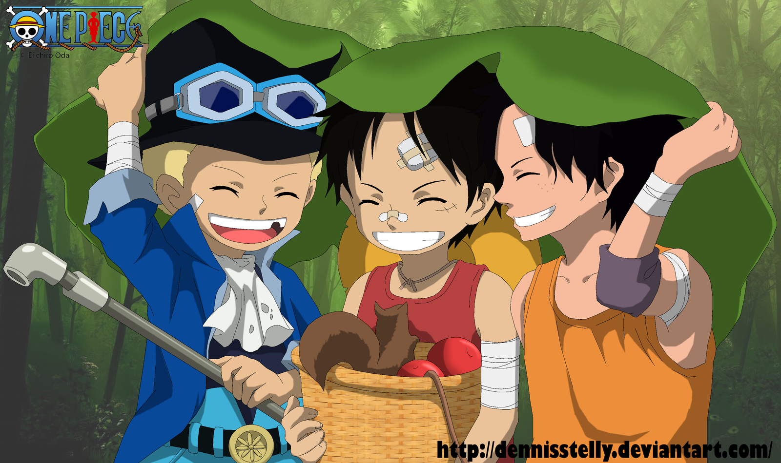 Ace Luffy favourites by 24person on DeviantArt