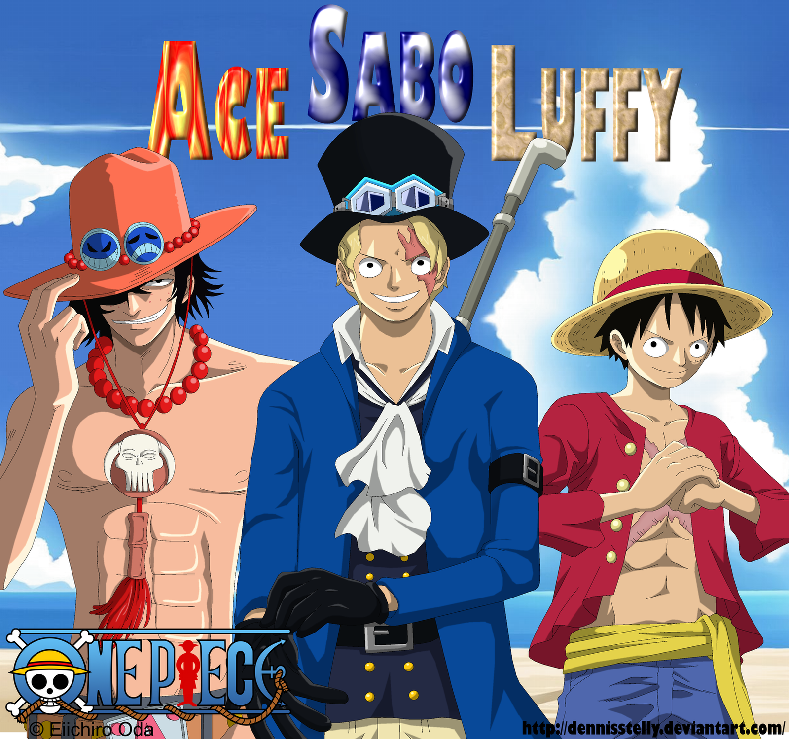 brothers ace and luffy meet