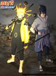 Naruto and Sasuke Rikudou Mode - Chapter 673