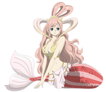 Princess Shiraoshi - Lineart Colored