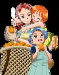 One Piece  - Bellmer, Nojiko, Nami
