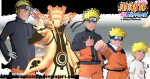Naruto age progression by DennisStelly