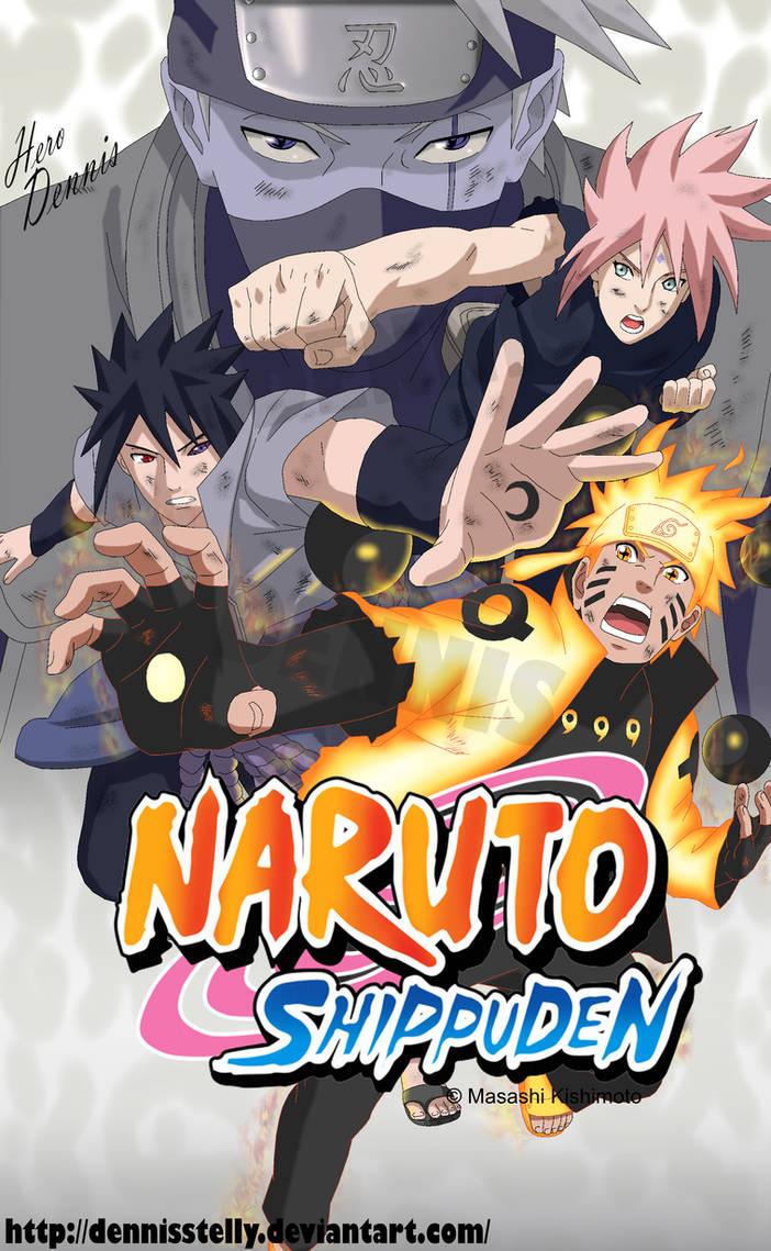 Naruto Shippuden - Team 7 Last Battle by DennisStelly on DeviantArt