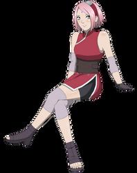 Sakura Haruno - The Last by DennisStelly