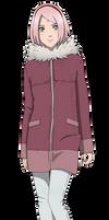 Sakura Haruno - the last - winter version