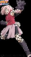 Sakura Haruno - Byakugou Mode