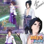 Uchiha Sasuke in Aura Kingdom