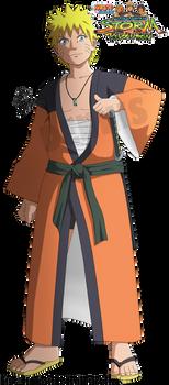 Naruto Uzumaki in Kimono