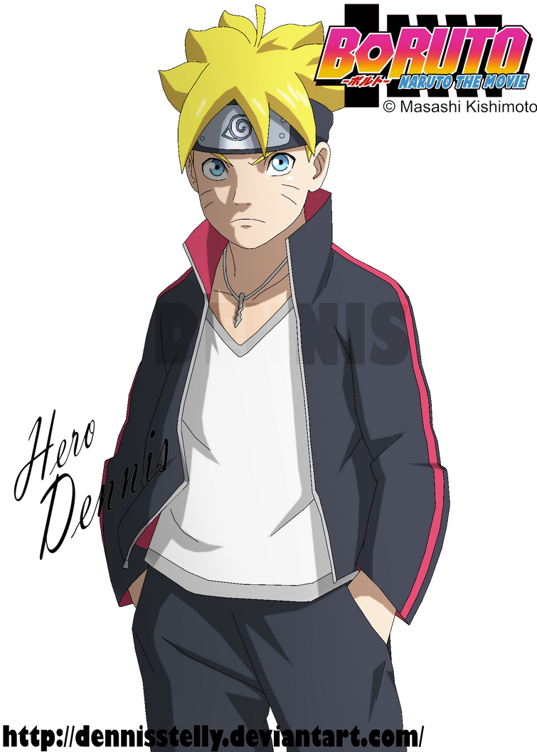 Bolt Boruto Uzumaki By Dennisstelly On Deviantart