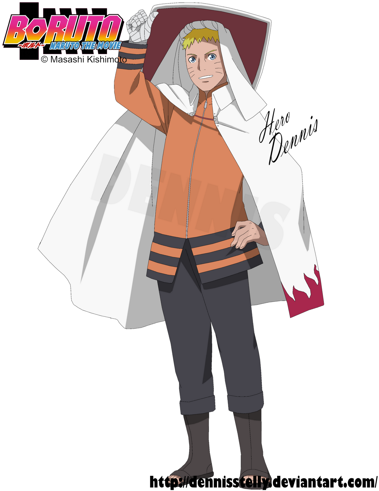 Adult as naruto