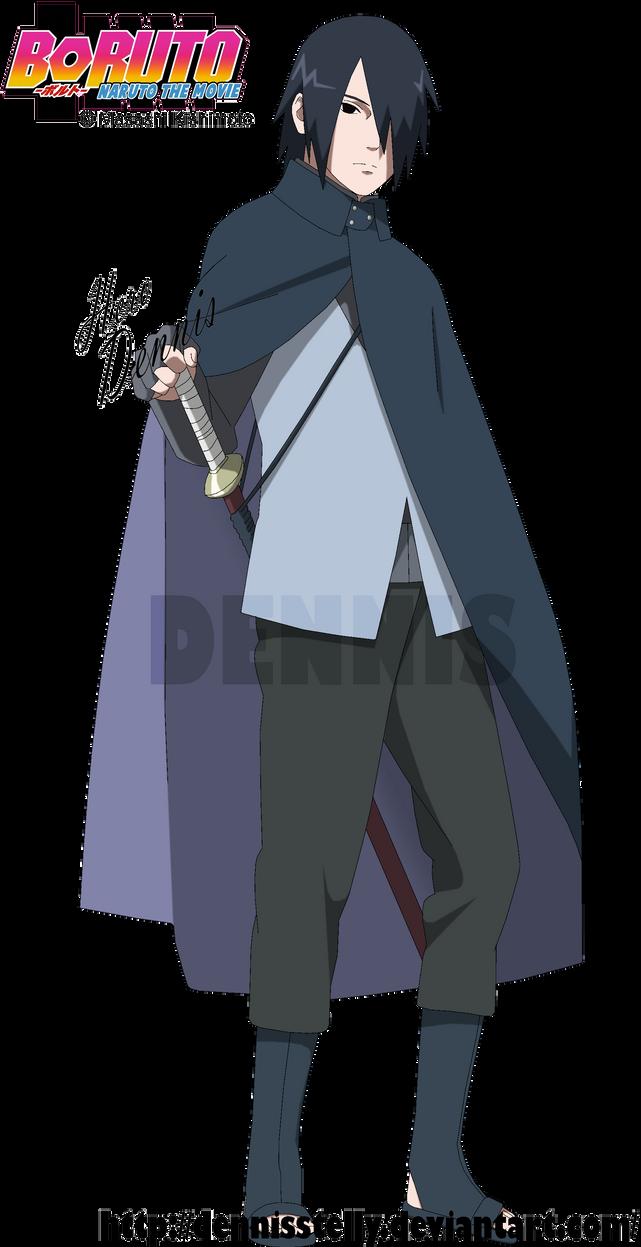 uchiha sasuke boruto the movie by dennisstelly on deviantart