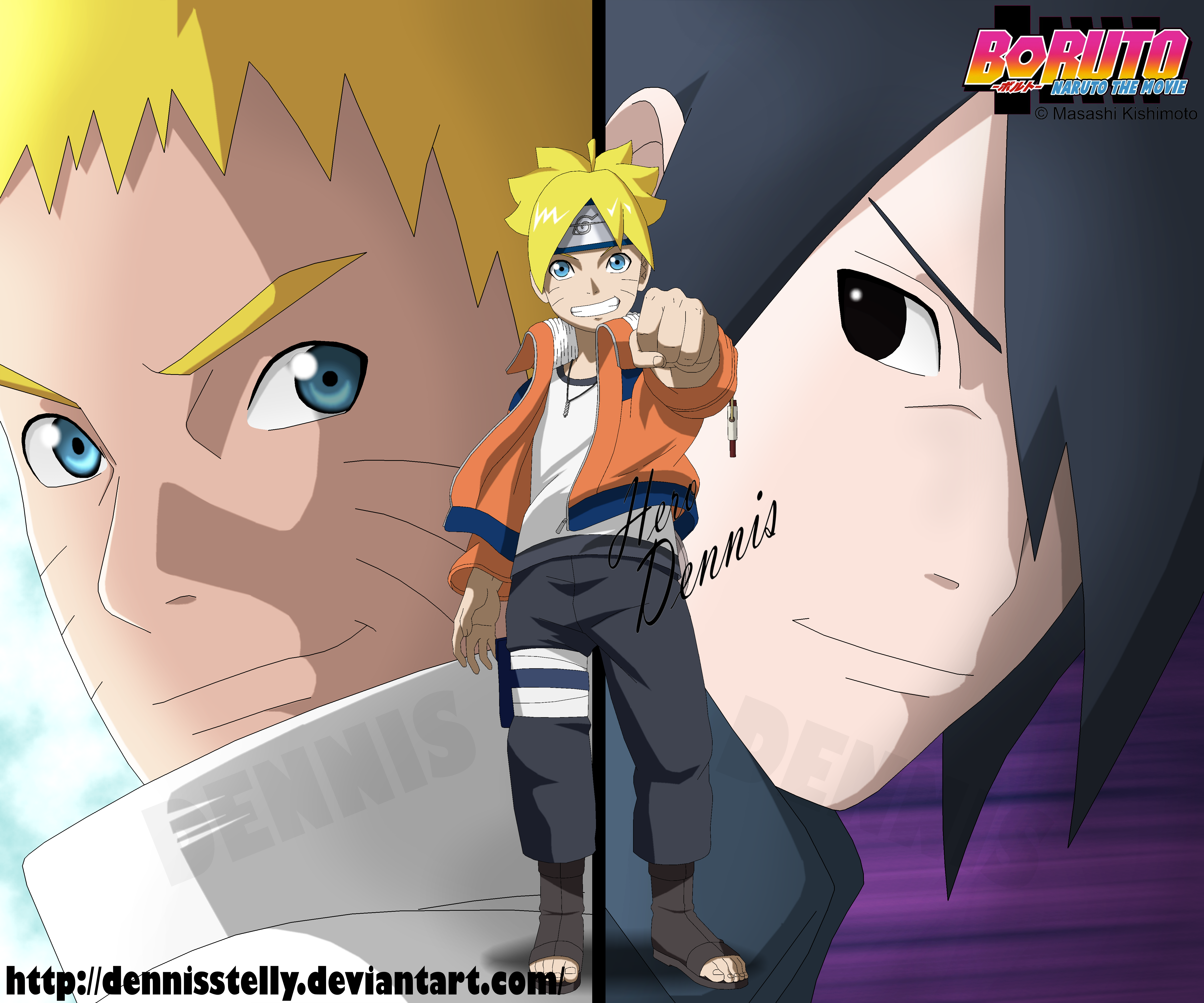 Boruto - Naruto the Movie - Cover by DennisStelly on