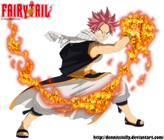 Natsu Dragneel, the Dragon Slayer of Fire by DennisStelly