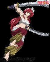 Fairy Tail - Erza Scarlet by DennisStelly