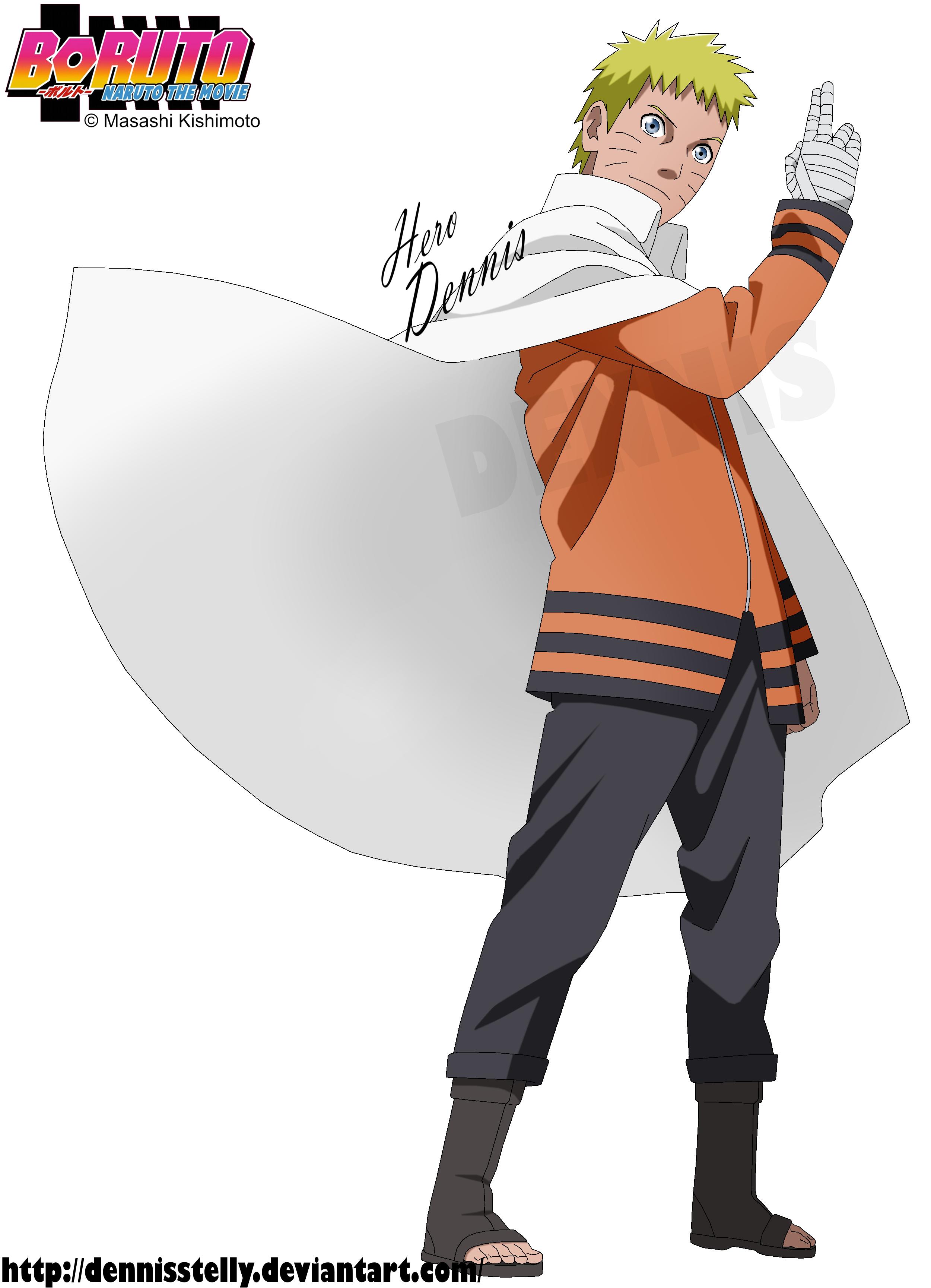 Naruto Render Scan Official Art Manga Cover Diningroom Design Room
