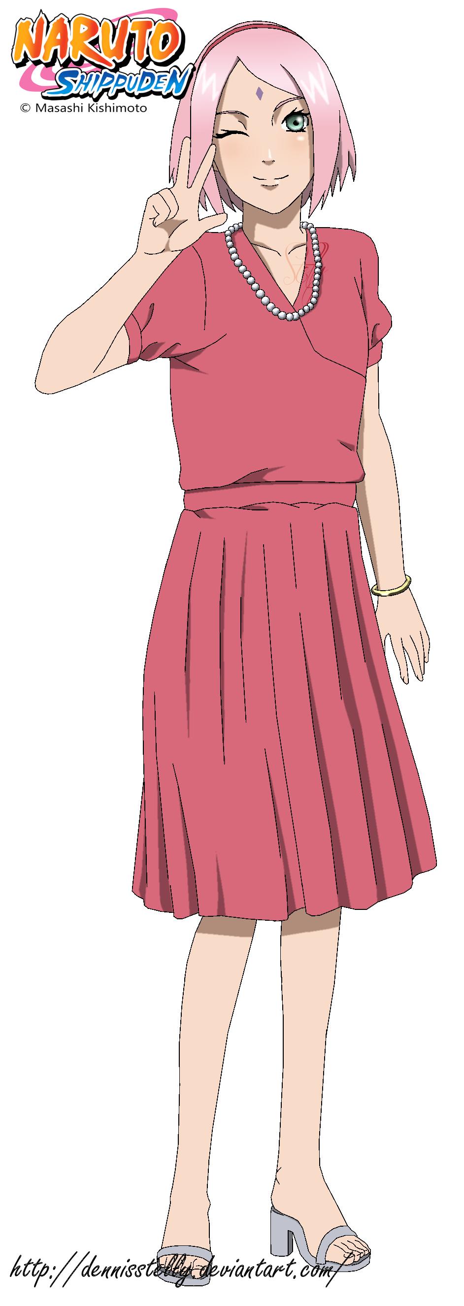 Sakura in Naruto's marriage by DennisStelly on DeviantArt
