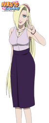 Ino in Naruto's marriage by DennisStelly
