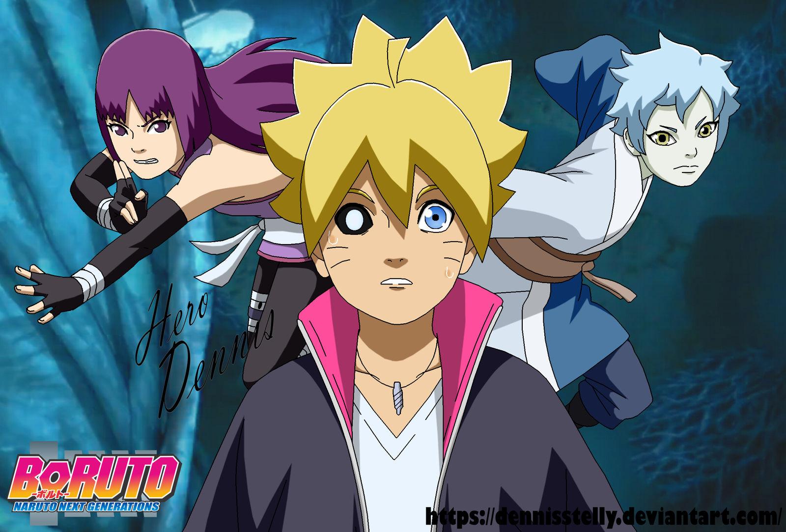 Boruto - Naruto Next Generation - Sumire Arc by DennisStelly