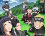 Naruto Shippuden Novels Arc - Cover