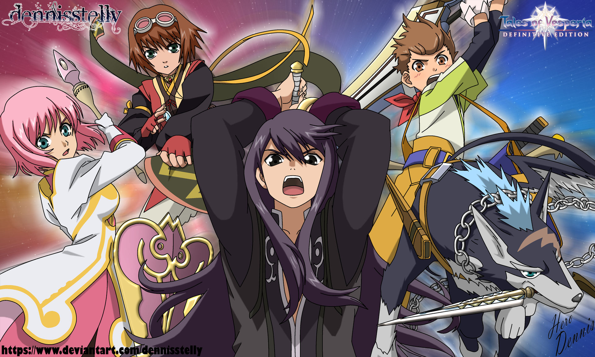 Tales Of Vesperia Wallpaper By Dennisstelly On Deviantart