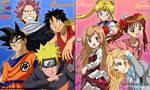 Anime Poll - Shounen or Shoujo by DennisStelly