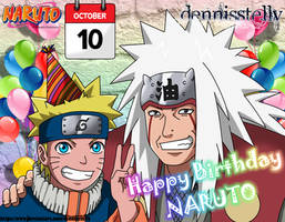 Happy Birthday Naruto! - October 10th