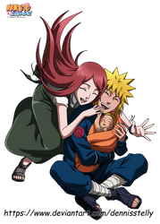 Uzumaki Family - Colored by DennisStelly