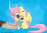 Simply Fluttershy and Discord